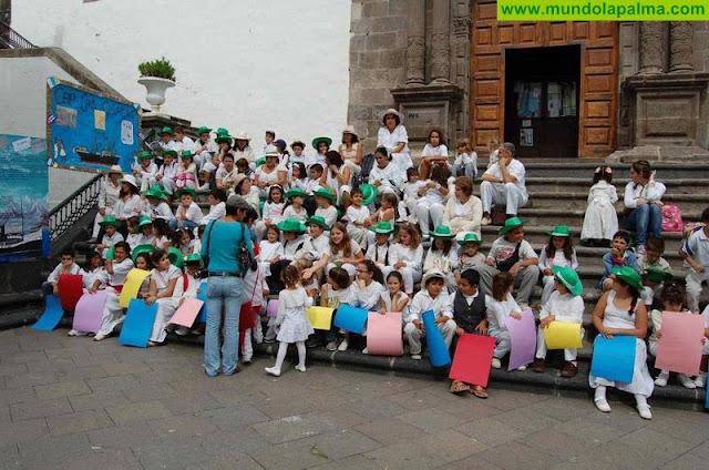 El Colectivo de Escuelas Unitarias Zona Este se La Palma pone nueva fecha a la actividad por la paz