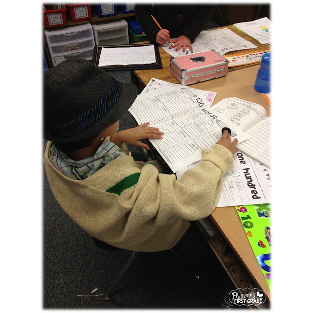 Write 100 words on the 100th Day of School. Students love this word writing challenge!