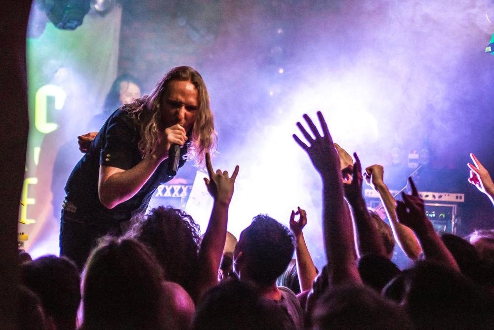 Uniformity Tour 2014 Wrocław Alibi Poland Dark Tranquillity Mikael Stanne