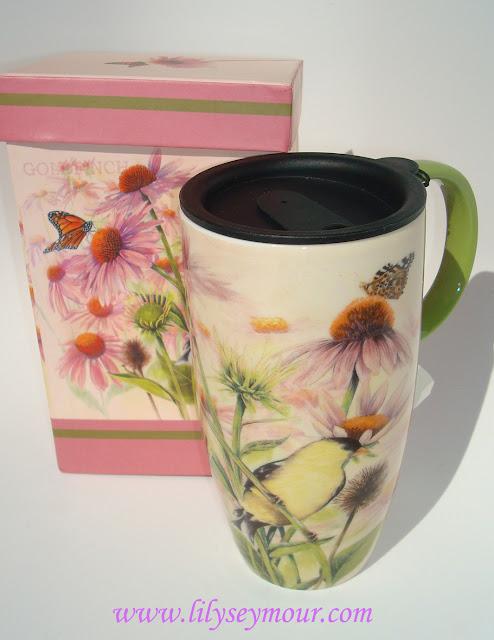 Loving my Beautiful Ceramic Coffee Mug!