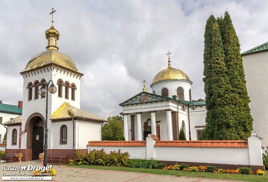 Wejście do cerkwi w Jabłecznej