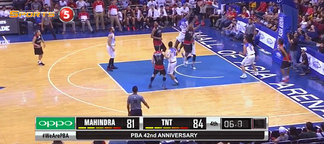 TNT KaTropa def. Mahindra, 86-84 (REPLAY VIDEO) April 9