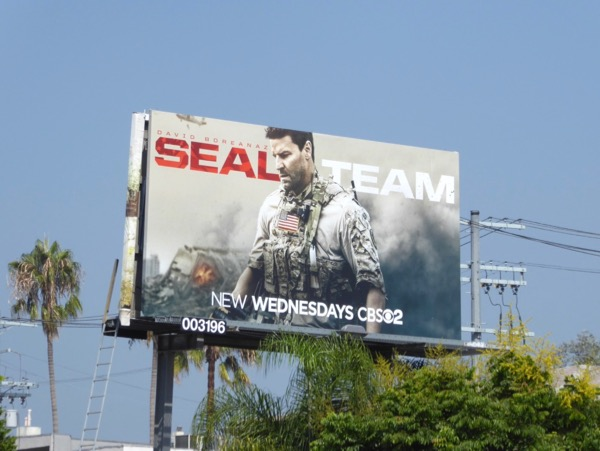 SEAL Team CBS billboard