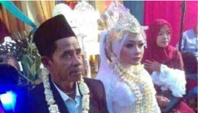 kakek nikah dengan perawan cantik