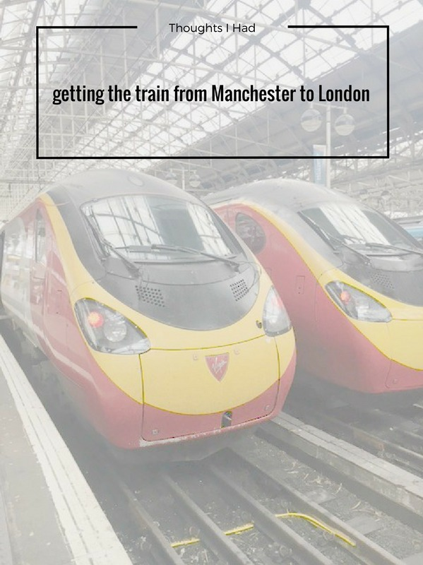 train to london manchester travel blogger