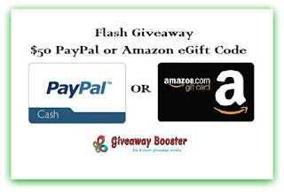 Enter the $50 Flash Giveaway. Ends 2/28