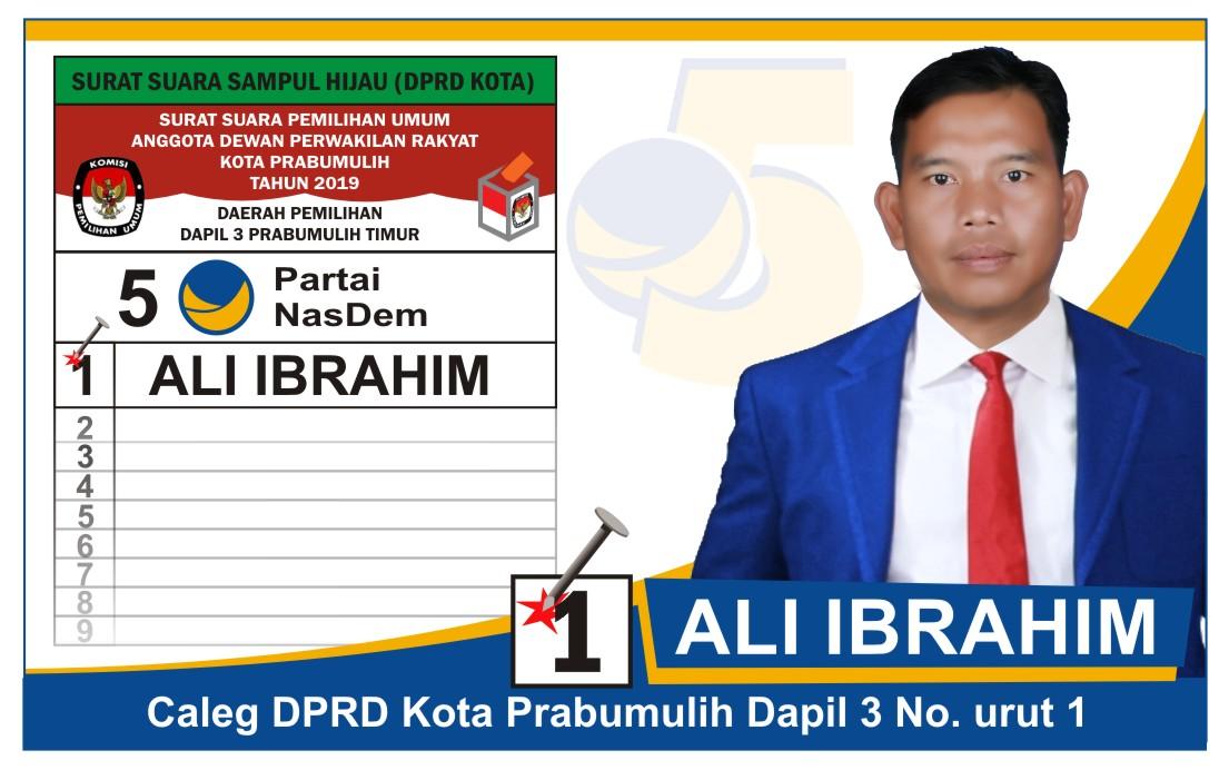 Sejarah Kota Prabumulih Ali Ibrahim