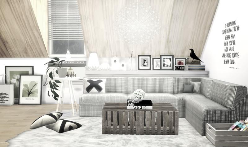 Sims 4 Living Room Decor