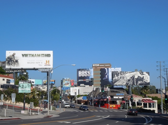 October 2011 billboards Sunset Strip