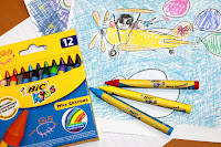 BIC® Kids Wax Crayons