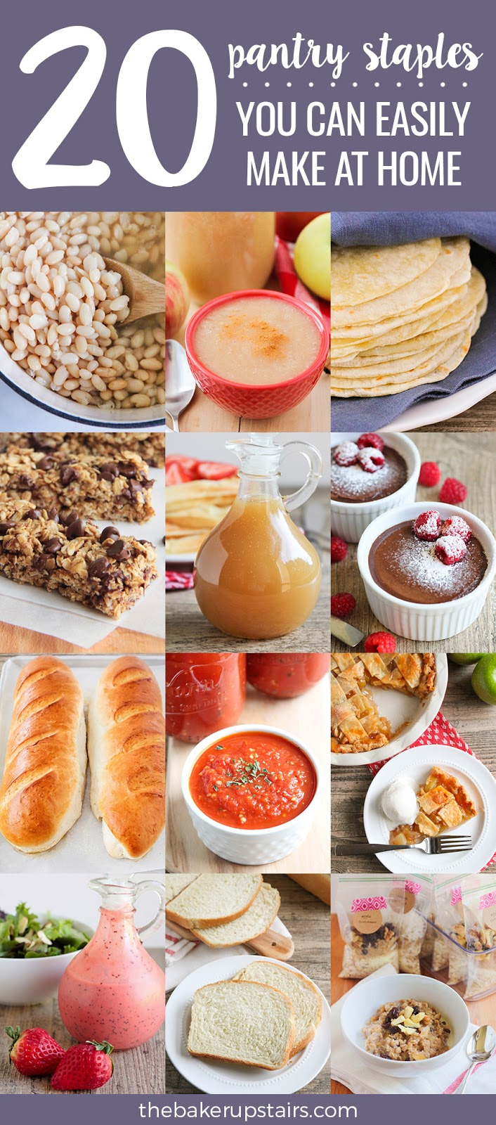 20 pantry staples you can make at home that are way better than store-bought!