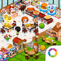 Download Cafeland World Kitchen MOD APK Cheat Hack Unlimited Money 1.9.4 Android