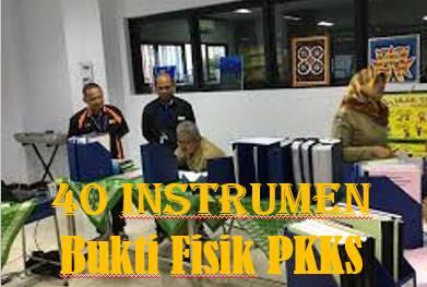 40 Instrumen Bukti Fisik Penilaian Kinerja Kepala Sekolah (PKKS) Aspek Pengembangan Dan Managemen Sumber Daya