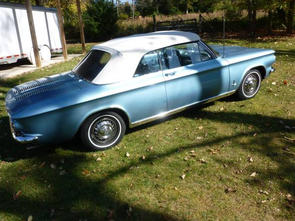 Daily Turismo: Judson Supercharged: 1964 Chevrolet Corvair