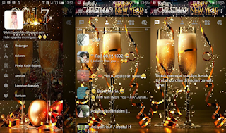 BBM Mod New Year v3.2.0.6 Apk Special Tahun Baru 2017
