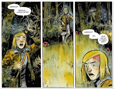 Harrow County magia en la frontera de Bunn y Crook, un comic de terror