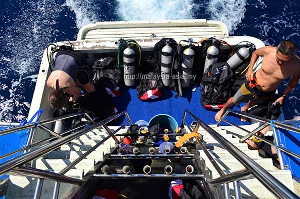 Dive boat Alor Island