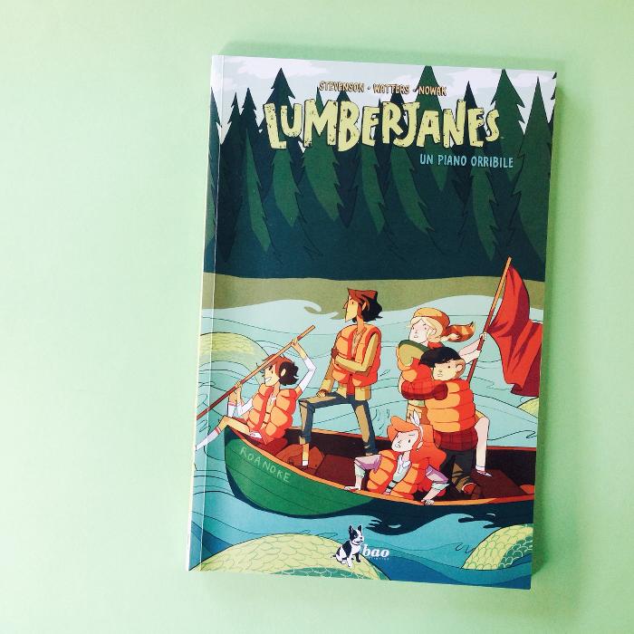 Lumberjanes fumetto tutto al femminile
