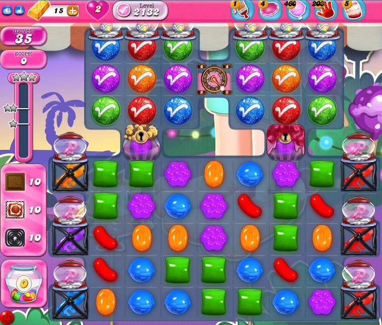 Candy Crush Saga level 2132