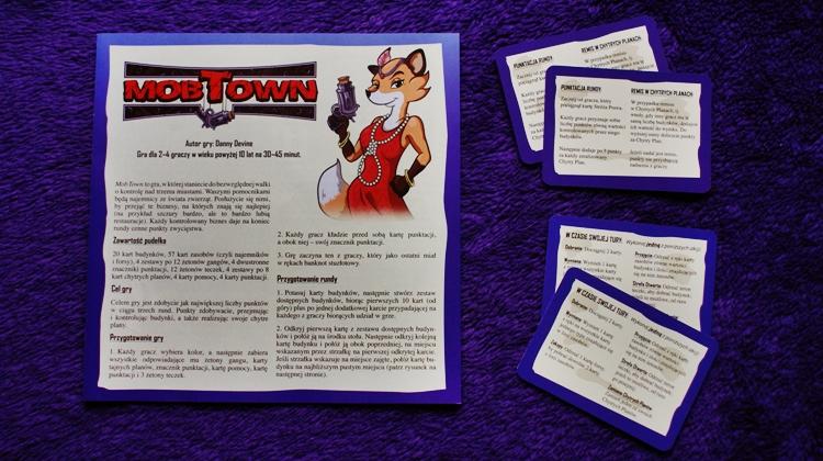 Mob Town - instrukcja pomoc