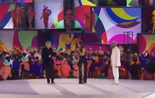 Anitta, Caetano Veloso e Gilberto Gil - Cerimônia de Abertura das Olimpíadas Rio 2016