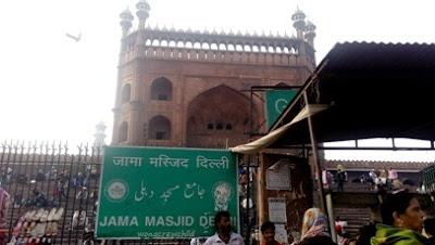alamat masjid jama delhi india