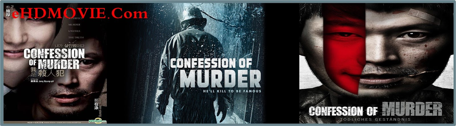 Confession of Murder 2012 Full Movie Korean 720p - 480p ORG BRRip 400MB - 850MB ESubs Free Download