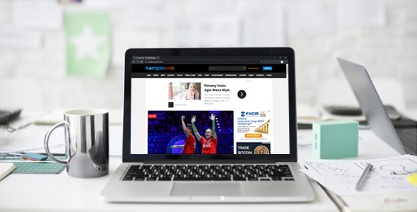Kompasweb - Template Blogger Mirip Kompascom Terbaru 2020