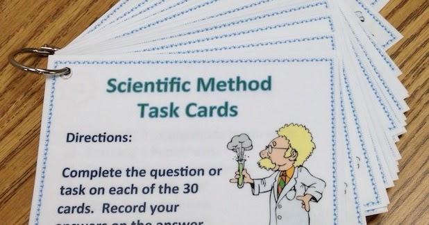 Amy Brown Science Scientific Method Task Cards – Scientific Method Worksheet Pdf