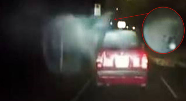 Ταξί Δέχεται Επίθεση από Μυστηριώδη Οντότητα στην Κίνα (video)