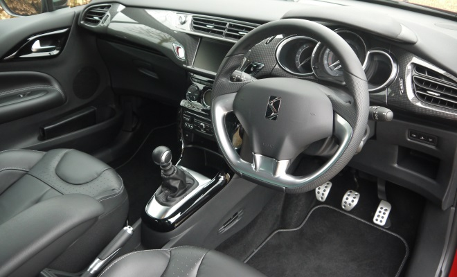 Citroen DS3 interior