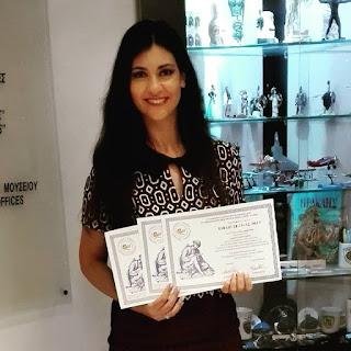 Παγκόσμιο βραβείο για την Μυτιληνιά Αξιωματικό του Λιμενικού Σώματος Στέλλα Πετρίδου… και νέο τραγούδι «Μαυρομαλλούσα» !