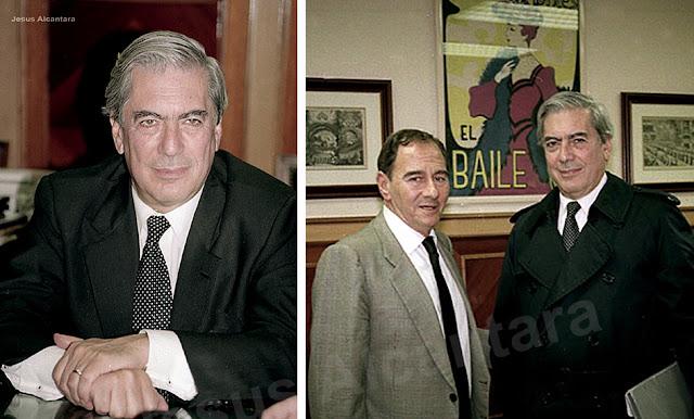 Mario Vargas Llosas-Gustavo Pérez Puig- Fototografia Jesus Alcantara.