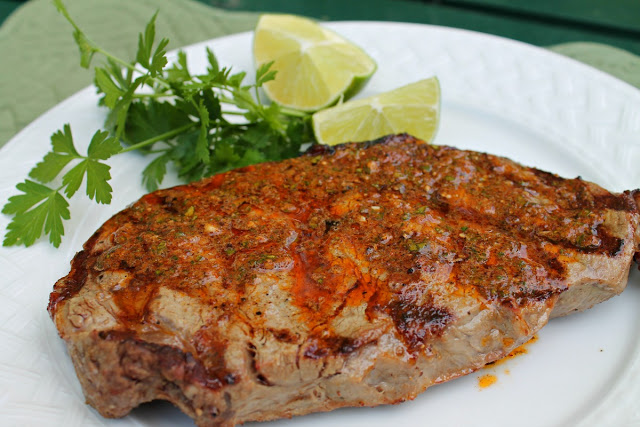 Cumin Grilled Steak