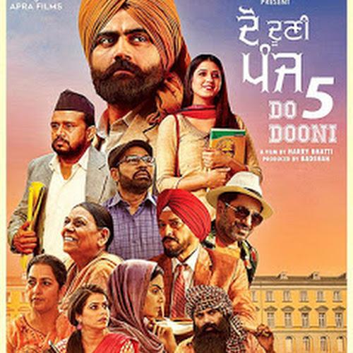 Do Dooni Panj (2019) Punjabi Movie Pre-DVDRip x264 [560MB
