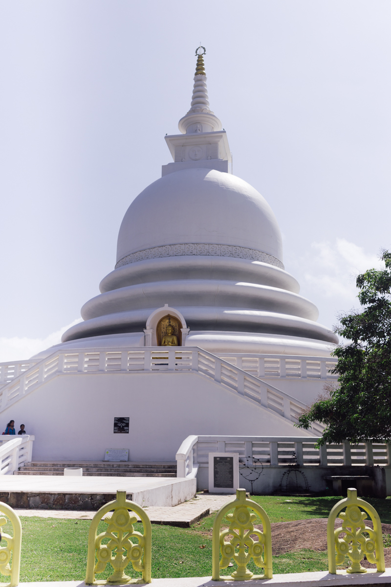 Japanese Peace Pagoda, Galle
