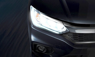 New 2017 Honda City facelift Headlight