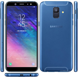 Gambar Samsung Galaxy A6 (2018) Warna Biru
