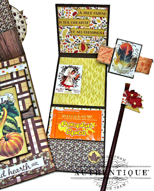 Authentique Pleasant Fall Card Folio by Kathy Clement Photo 04