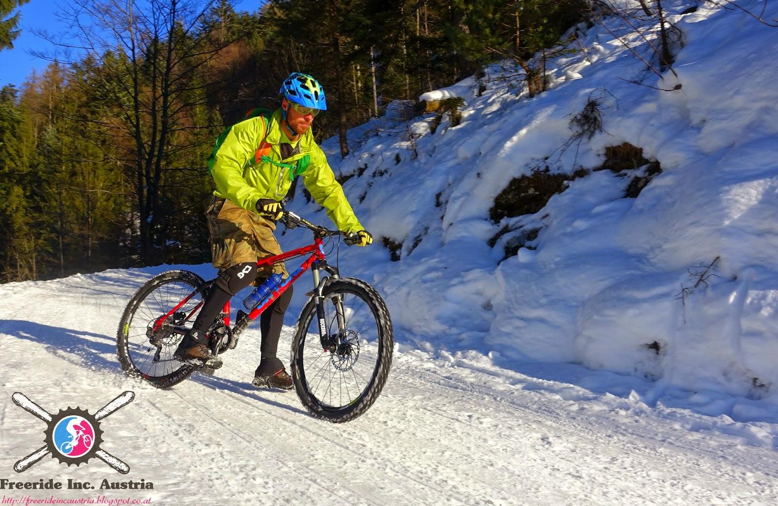 Besonerheit Winter Biketour