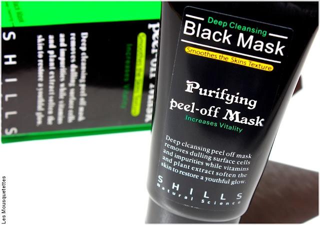 Black Mask peel-off - Shills - Non conforme FEBEA - Blog