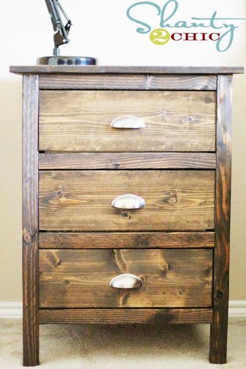 Reclaimed Wood Nightstands By Shanty 2 Chic