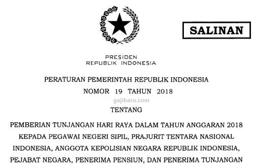 pp 19 tahun 2018