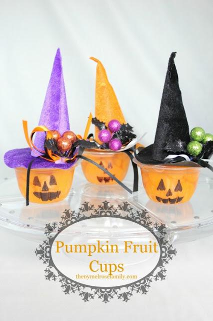 Pumpkin Fruit Cups 12 Spooktacular Halloween Kid Crafts 35
