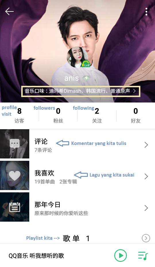Here S My Story How To Use Qq Music Mobile App Indonesian Version