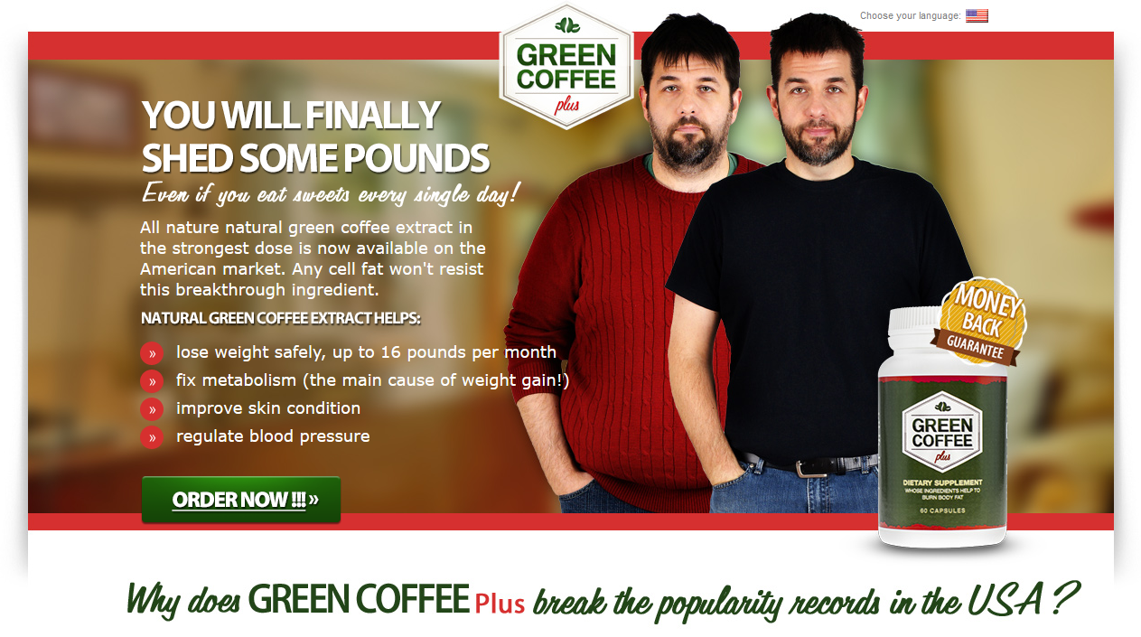 All nature natural green coffee extract in the strongest dose is now available on the American market. Any cell fat won't resist this breakthrough ingredient.