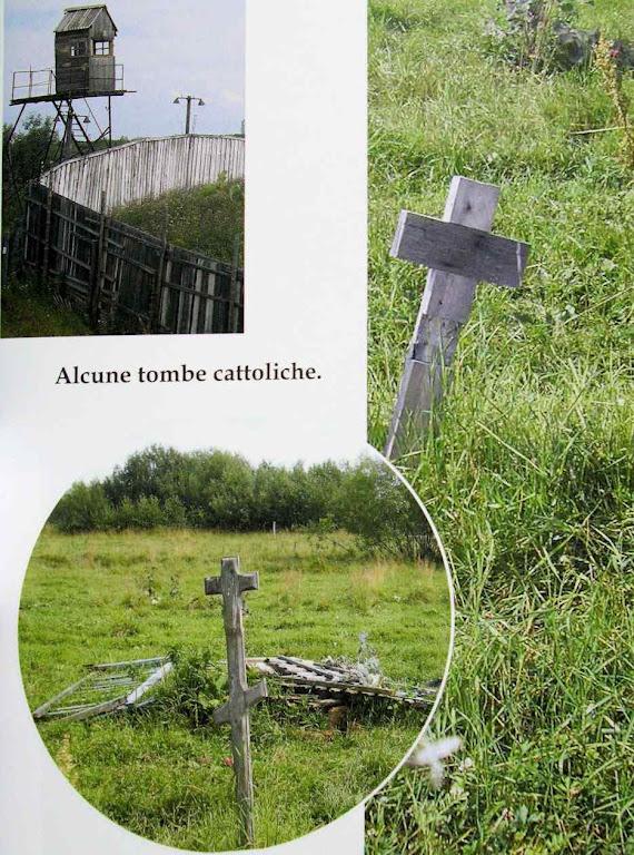 Alguns túmulos cristãos no campo de trabalhos forçados de Solovki