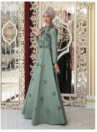 15 Model Baju Pesta Muslim 2018 Edisi Gaun Pesta Elegan Desain