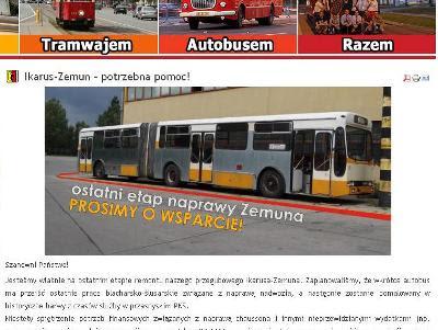 Ikarusy IK160P z KMKM Warszawa