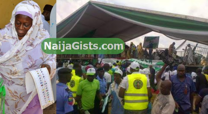 stage collapse pdp rally